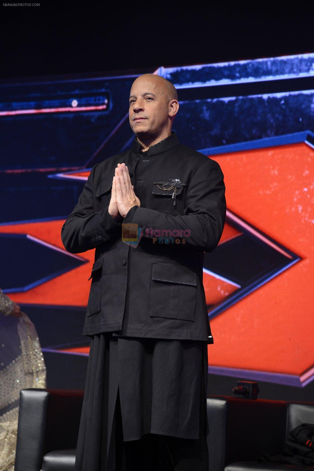 Vin Diesel at XXX Press Meet on 12th Jan 2017
