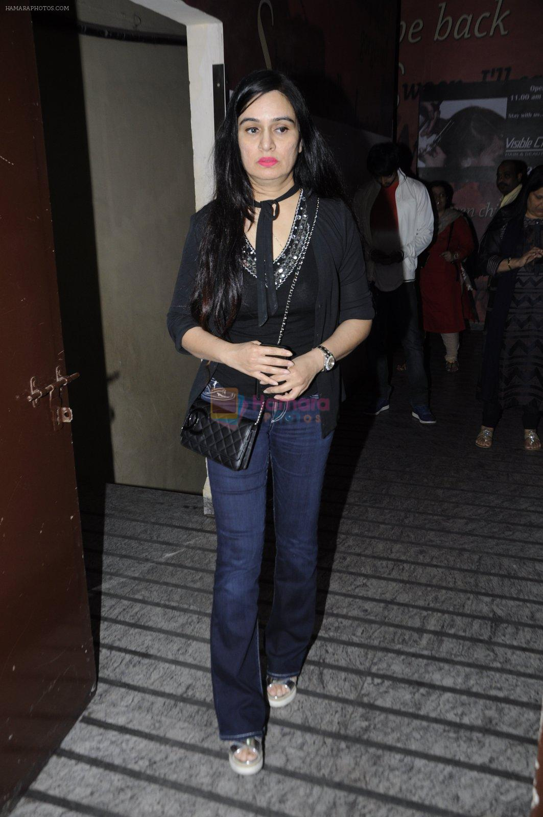 Padmini Kolhapure at OK Jaanu screening in Mumbai on 12th Jan 2017