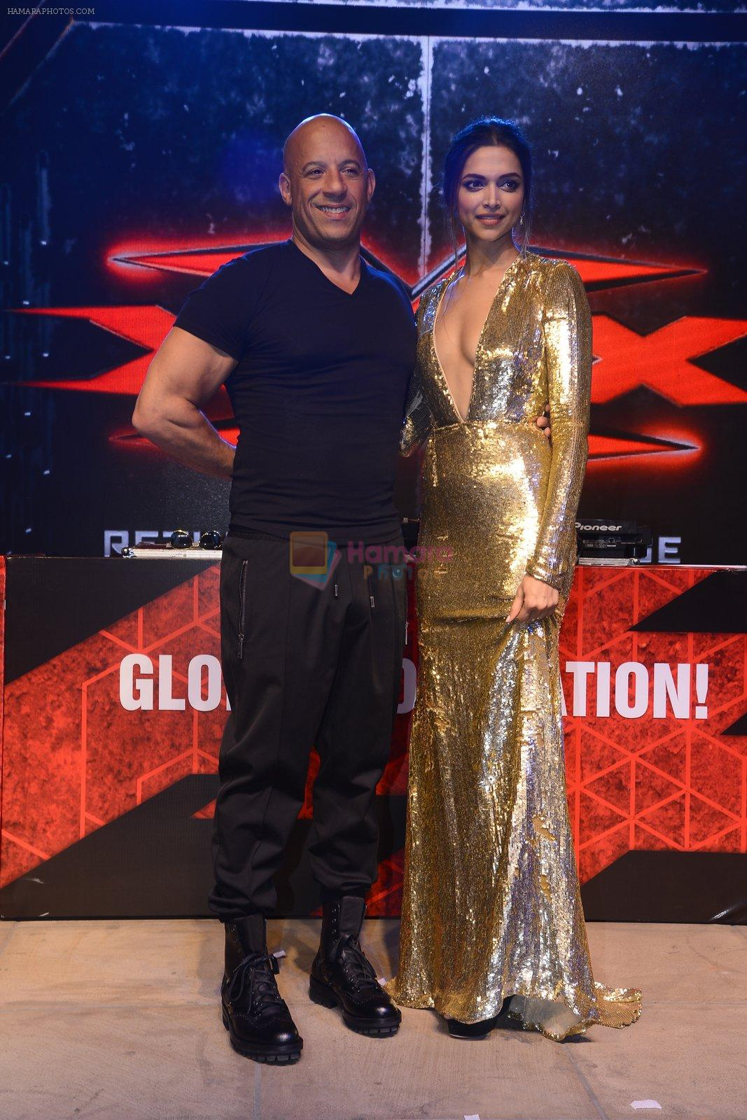 Deepika Padukone, Vin Diesel at XXX Concert on 12th Jan 2017