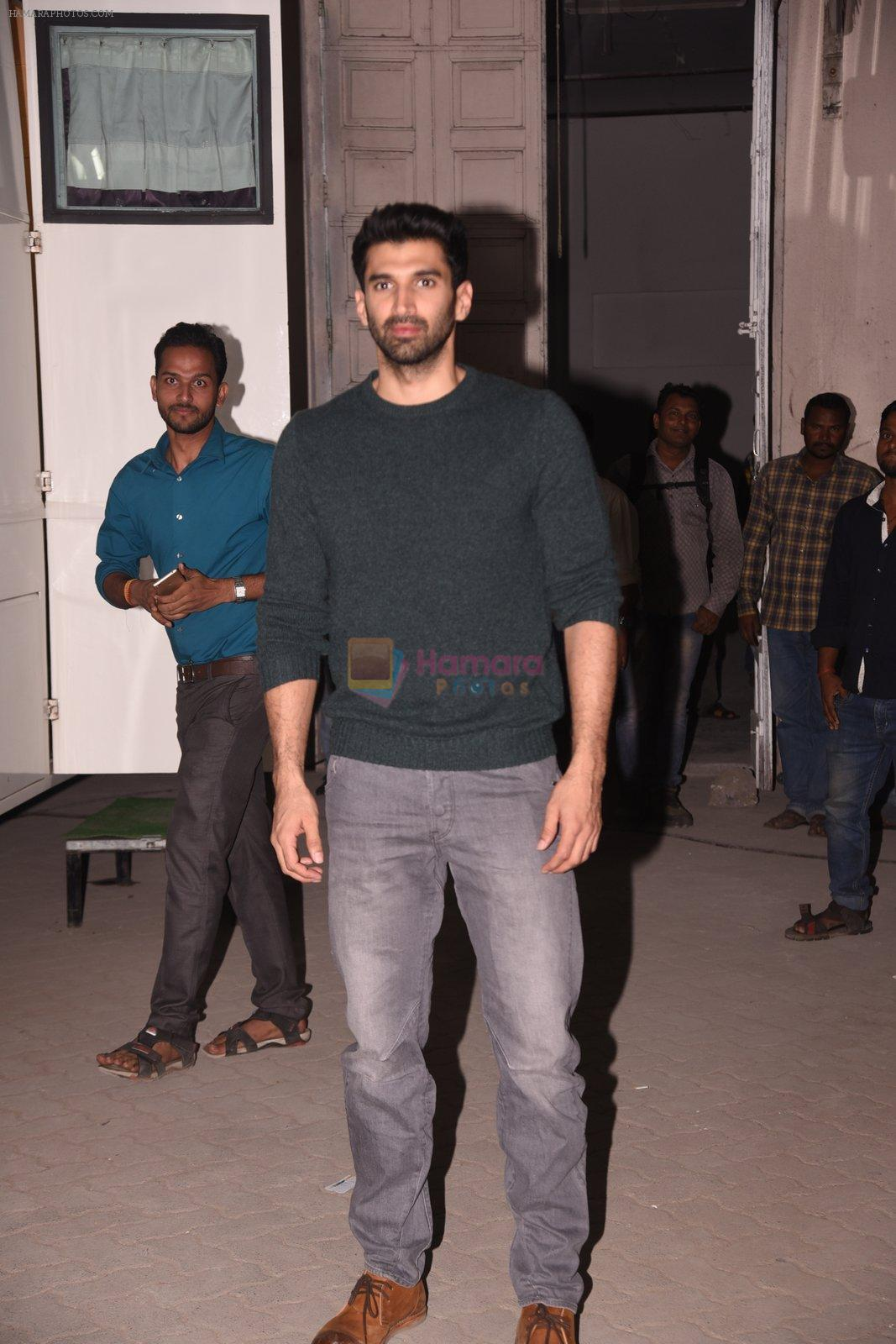 Aditya Roy Kapoor promote OK Jaanu on 12th Jan 2017