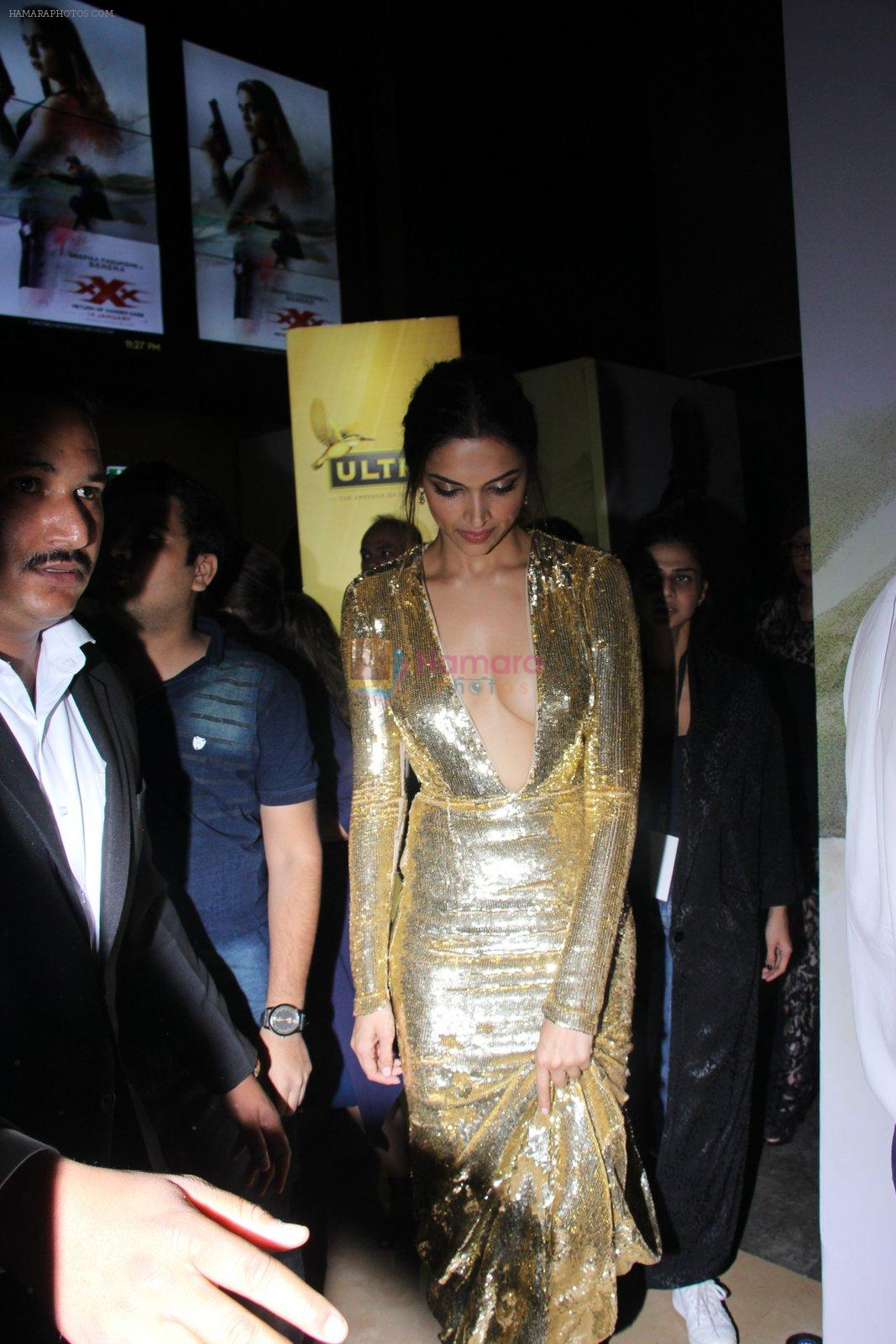 Deepika Padukone at XXX Premiere on 12th Jan 2017
