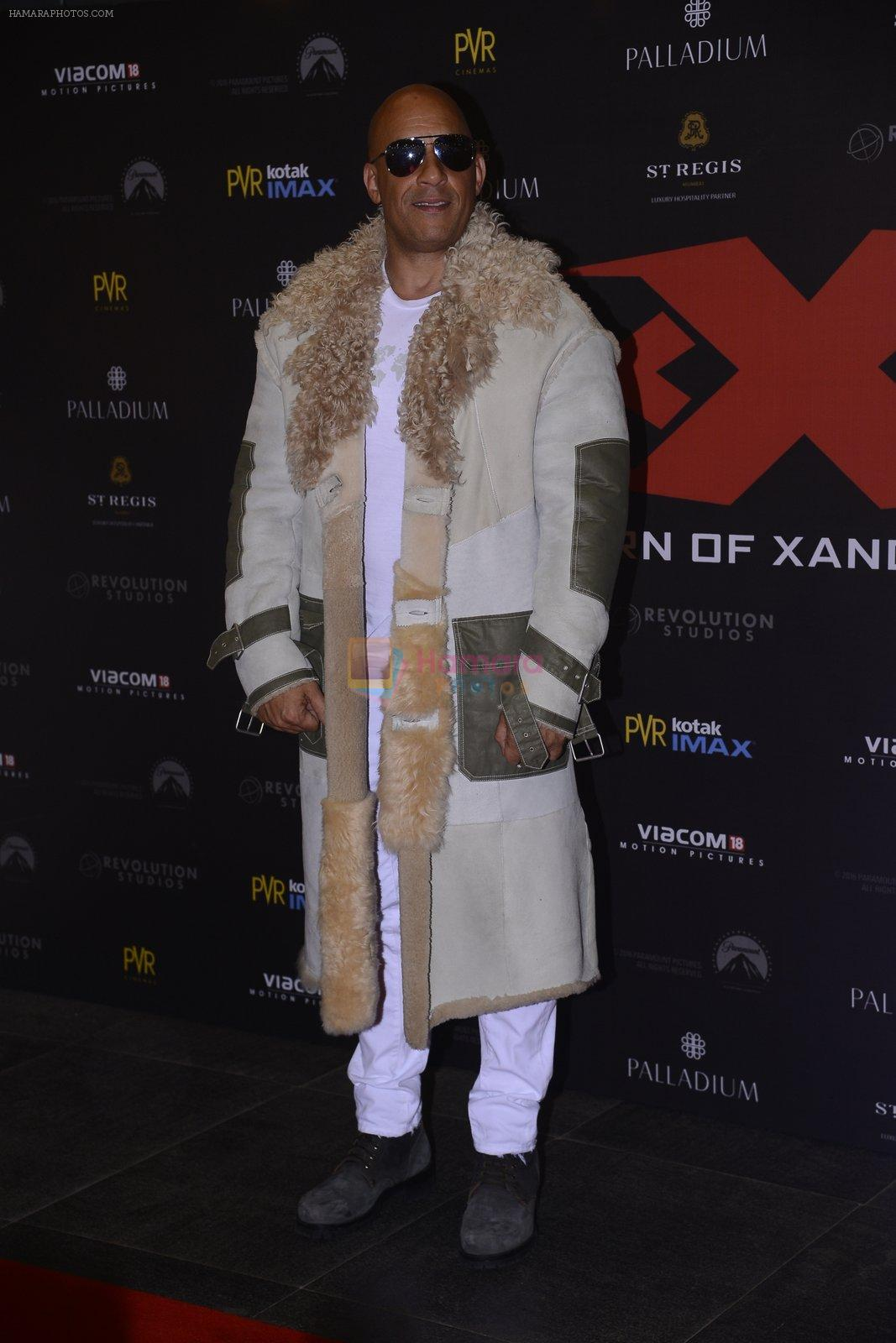 Vin Diesel at XXX Premiere on 12th Jan 2017