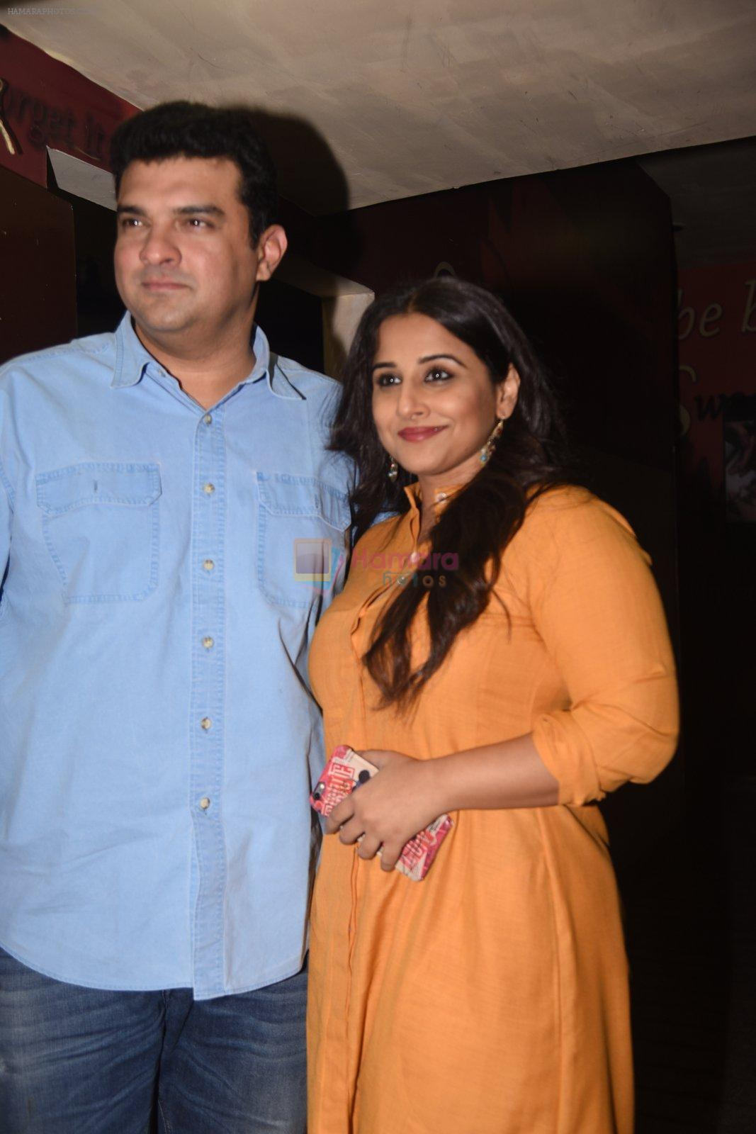 Vidya Balan, Siddharth Roy Kapoor at OK Jaanu screening in Mumbai on 12th Jan 2017