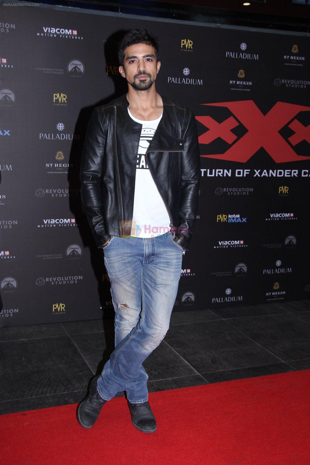 Saqib Saleem at XXX Premiere on 12th Jan 2017