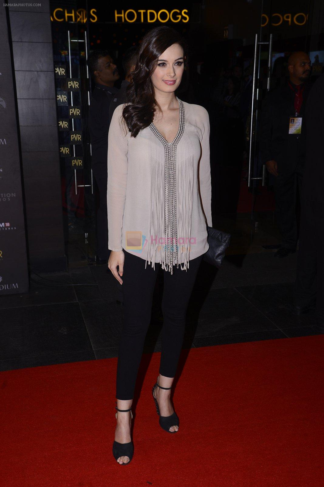 Evelyn Sharma at XXX Premiere on 12th Jan 2017