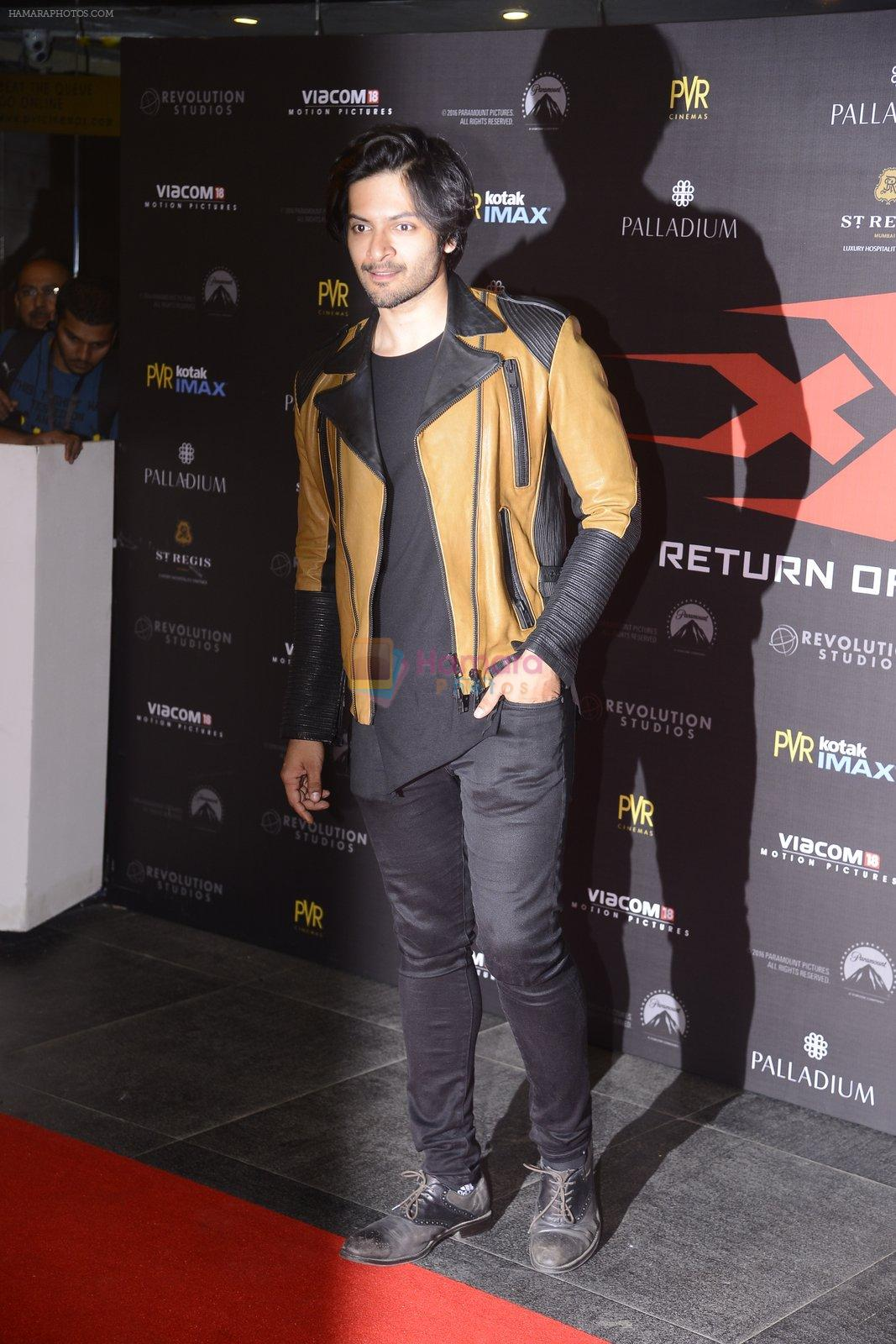 Ali Fazal at XXX Premiere on 12th Jan 2017