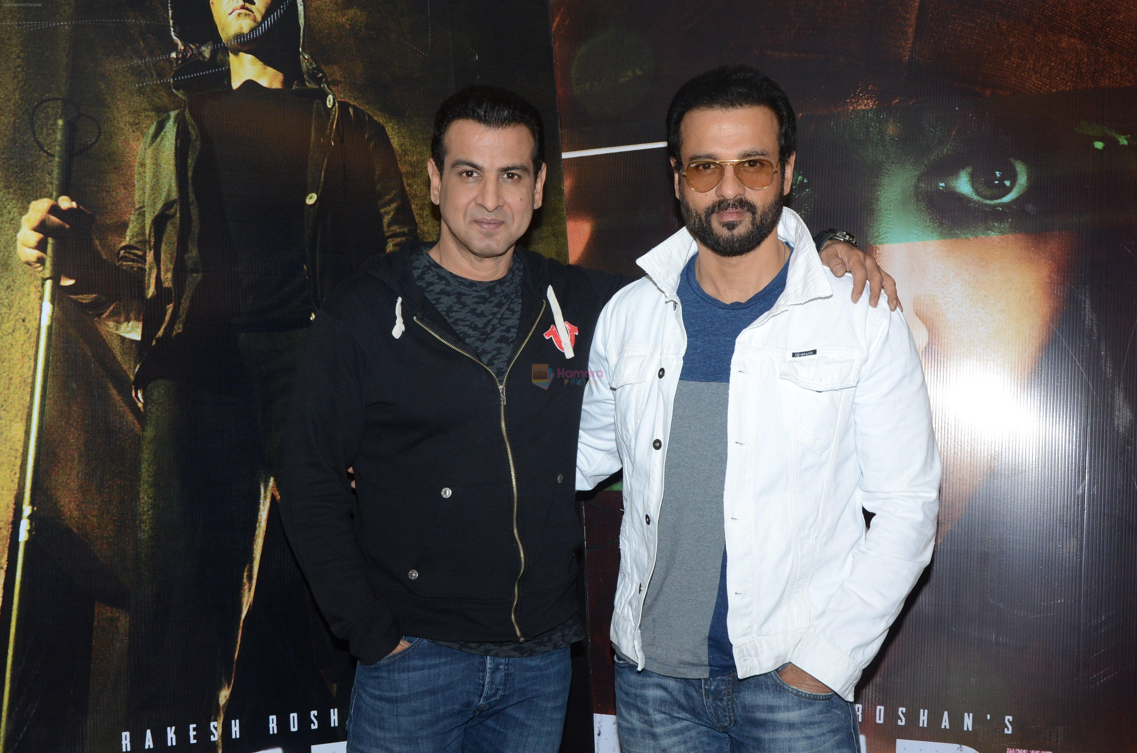 Rohit Roy, Ronit Roy at Kaabil interviews on 13th Jan 2017