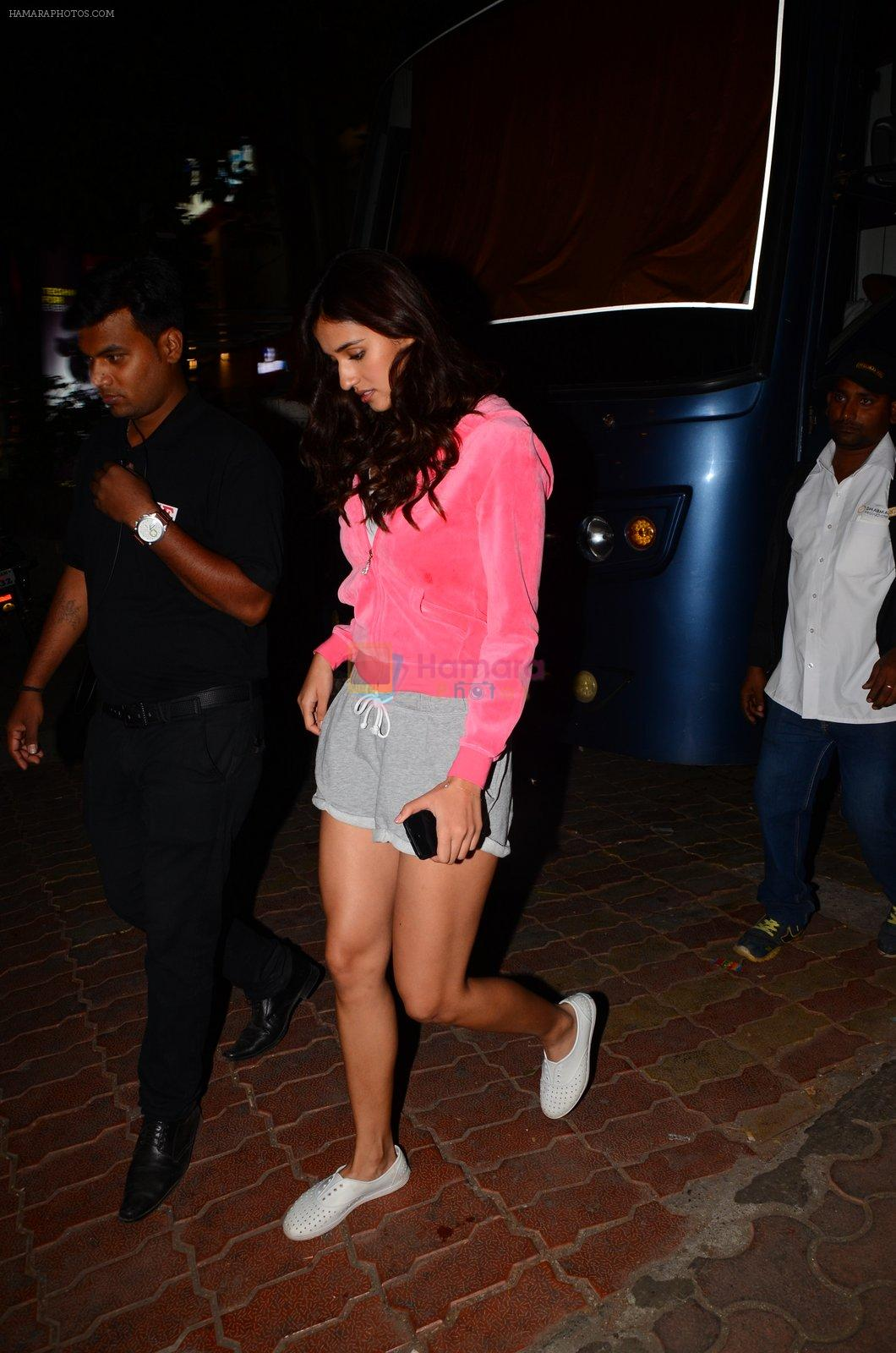 Disha Patani snapped post shoot on 13th Jan 2017