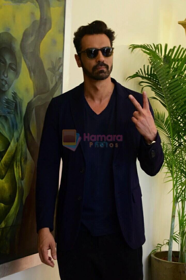 Arjun rampal at Super Fight League event on 13th Jan 2017