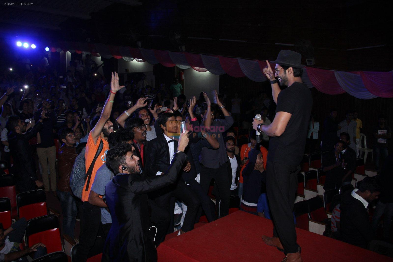 Salman Yusuf Khan at Lala Lajpat Rai college fest on 13th Jan 2017