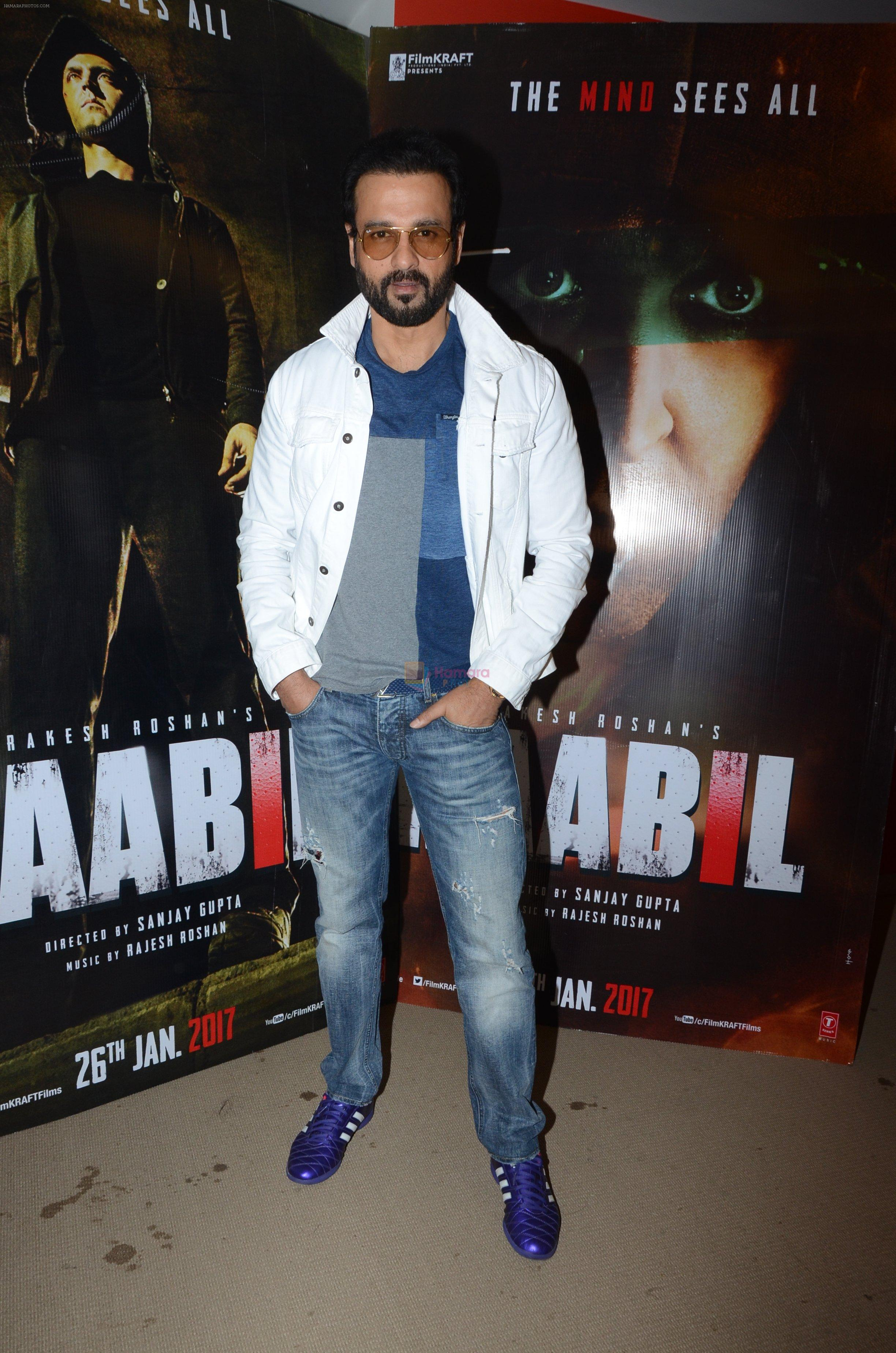 Rohit Roy at Kaabil interviews on 13th Jan 2017