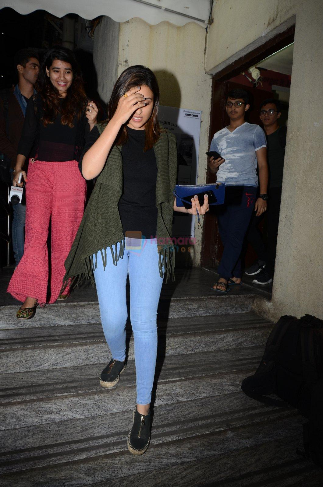 Parineeti Chopra snapped at PVR on 17th Jan 2017