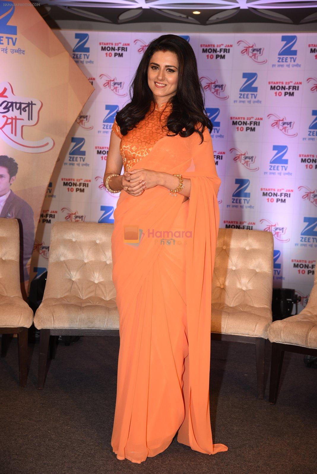 Riddhi Dogra at Woh Apna Sa show for ZEE on 17th Jan 2017