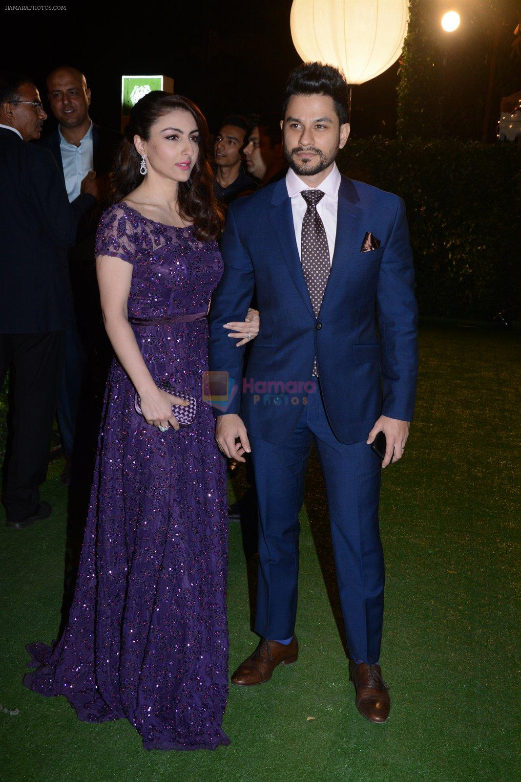Soha ALi Khan, Kunal Khemu at Ronnie Screwala daughter wedding reception on 20th Jan 2017