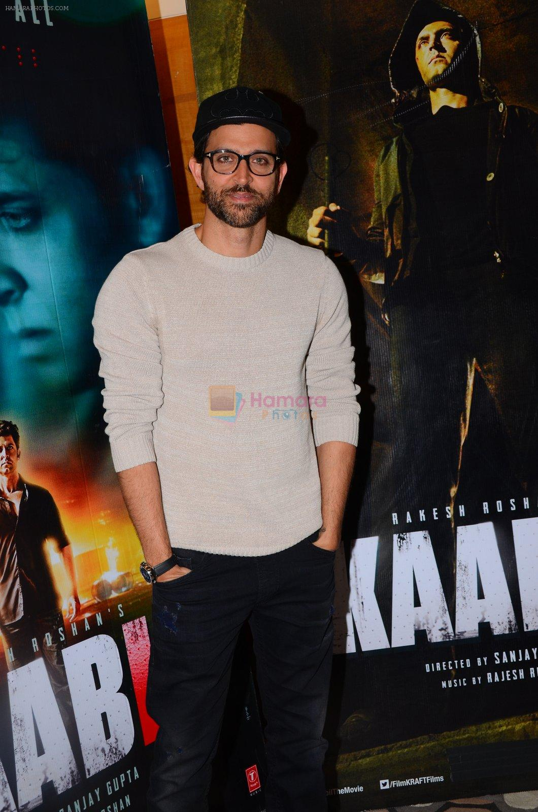 Hrithik Roshan at Kaabil interview on 25th Jan 2017
