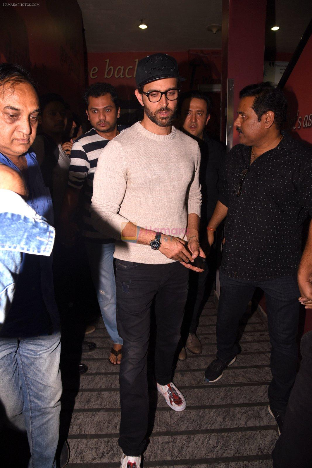 Hrithik Roshan snapped at PVR on 25th Jan 2017