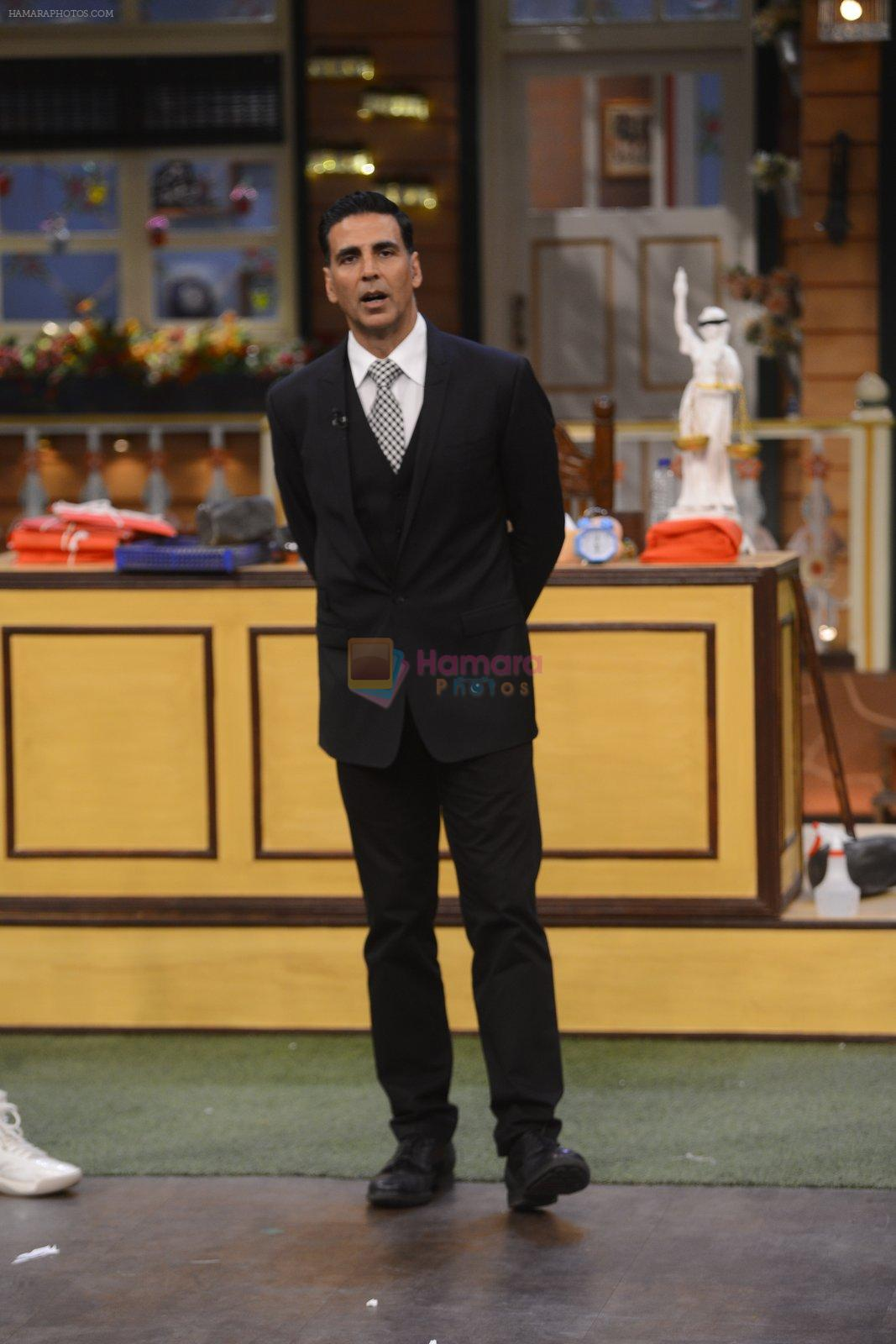 Akshay Kumar promote Jolly LLB 2 on the sets of The Kapil Sharma Show on 31st Jan 2017