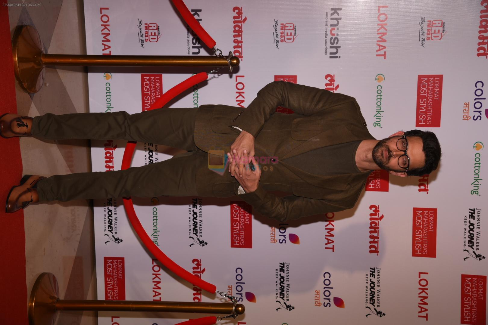 Hrithik Roshan at Lokmat Maharashtra's Most Stylish 2017 on 31st Jan 2017