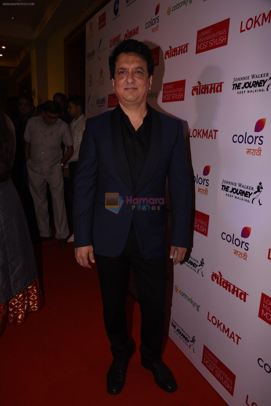 Sajid Nadiadwala at Lokmat Maharashtra's Most Stylish 2017 on 31st Jan 2017,1