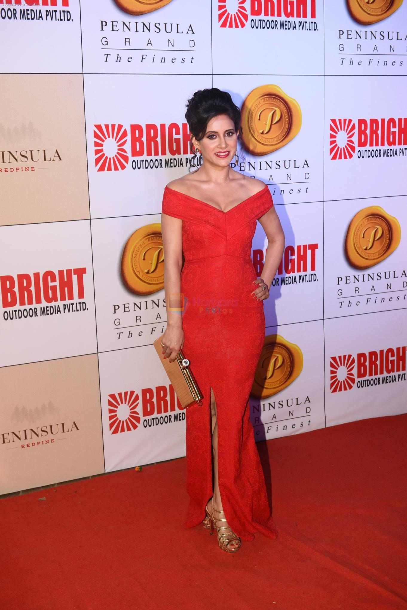 Shweta Khanduri at 3rd Bright Awards 2017 in Mumbai on 6th Feb 2017