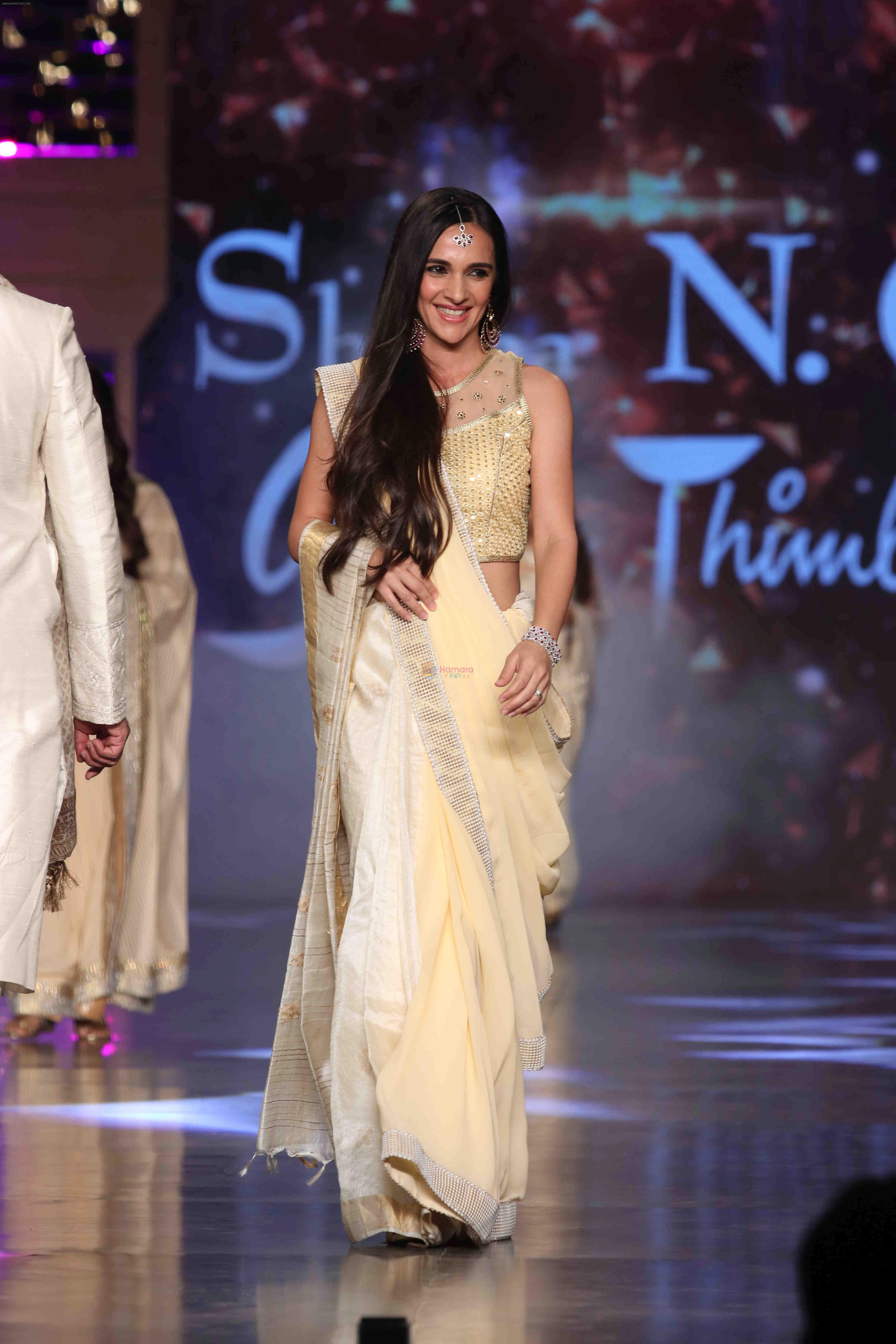 Tara Sharma Walk The Ramp At 12th Annual Caring With Style