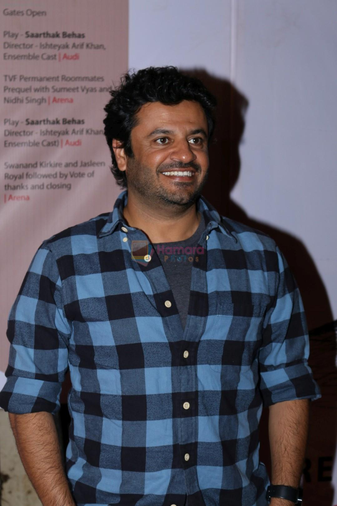 Vikas Bahl at Colors khidkiyaan Theatre Festival on 1st March 2017