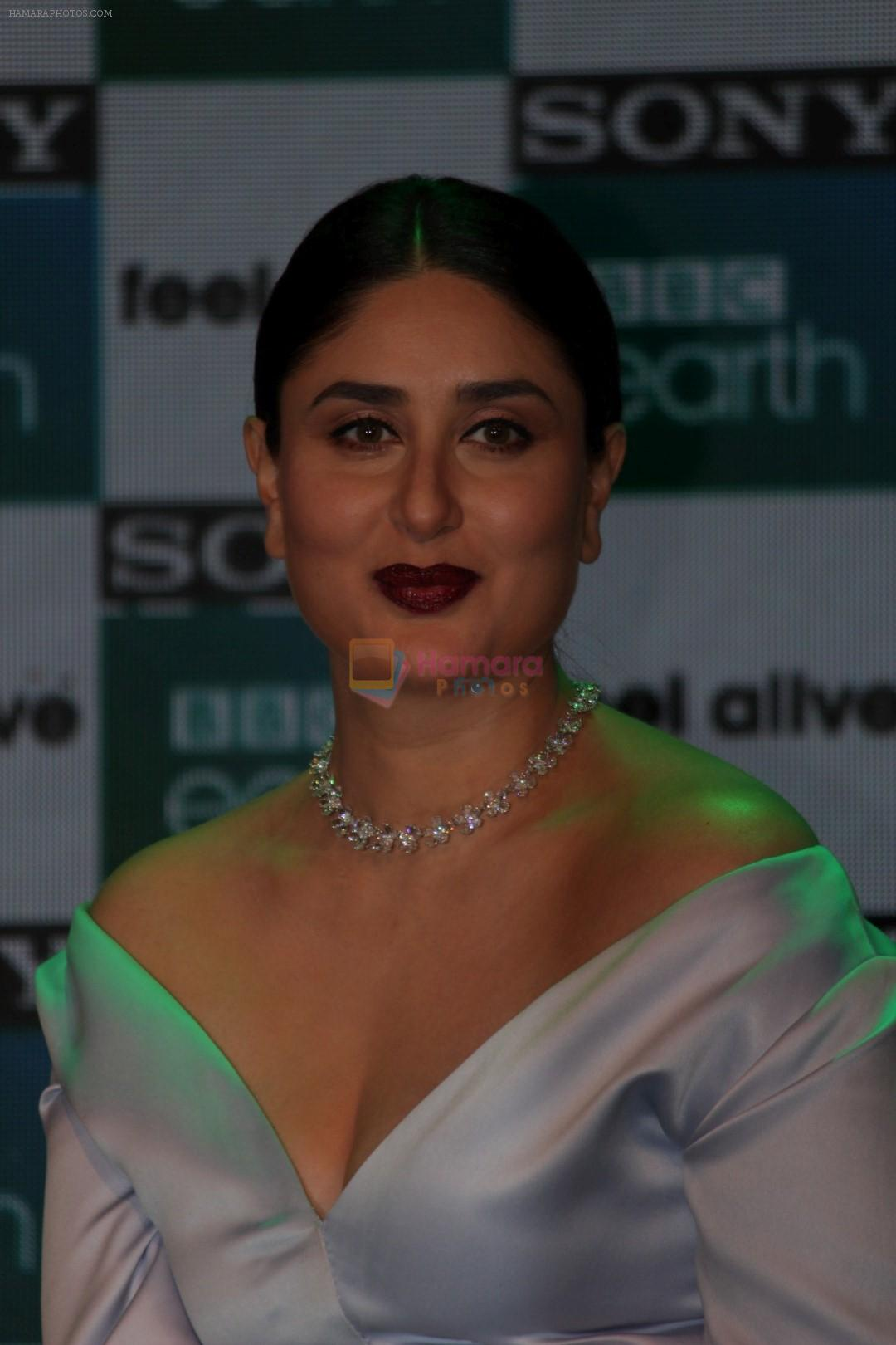 Kareena Kapoor Khan Launches New Channel Sony BBC Earth on 1st March 2017