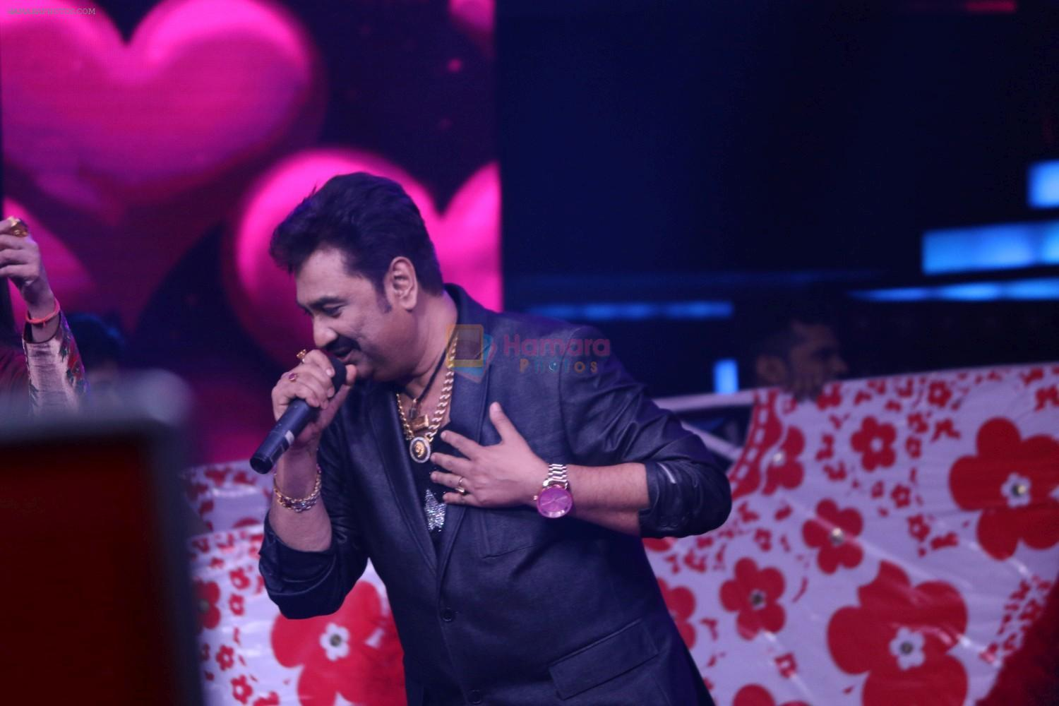 Kumar Sanu at Semi Finale Of The Voice India Season 2 on 6th March 2017