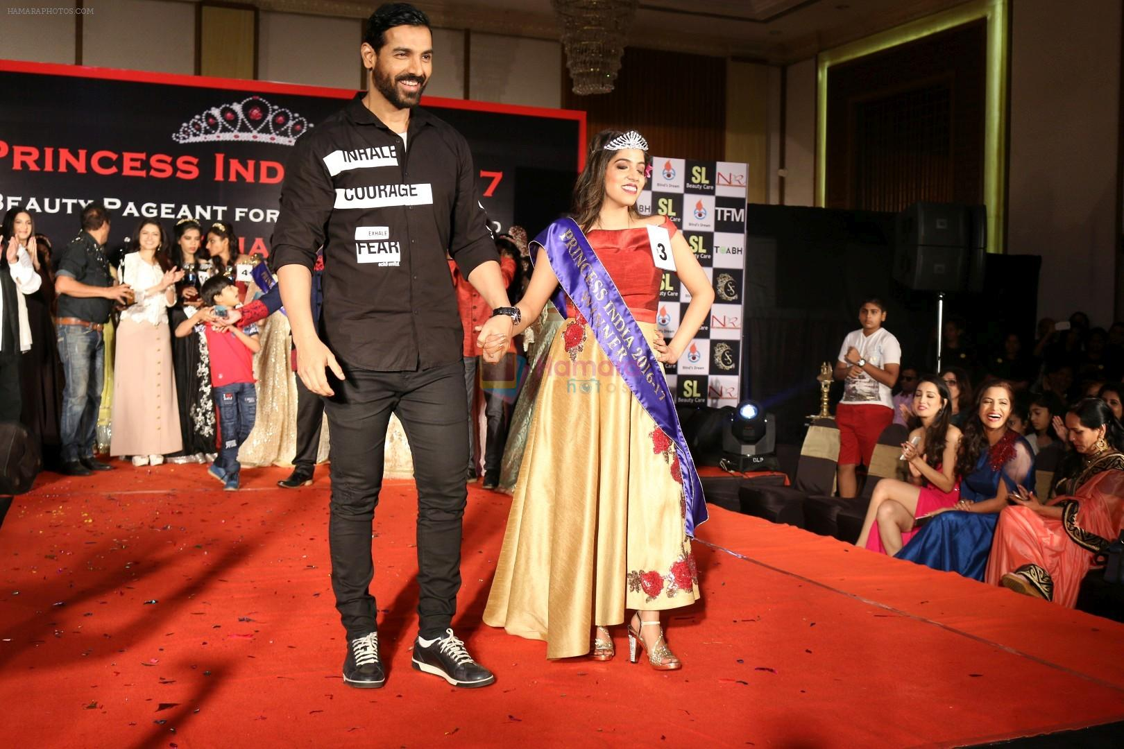 John Abraham Attends Princess India 2016 17 On 8th March