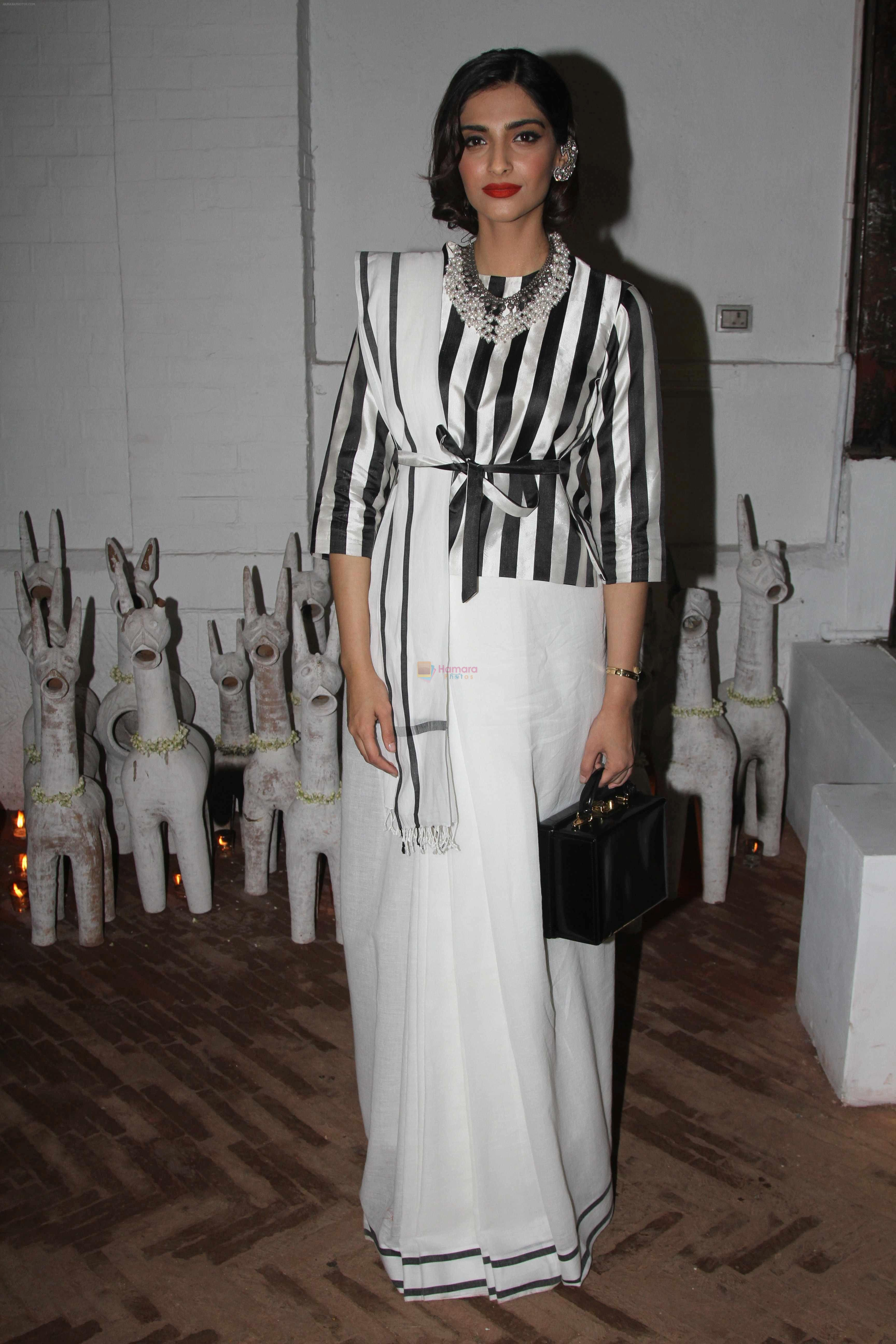 Sonam Kapoor at Raw Mango's store launch on 9th March 2017