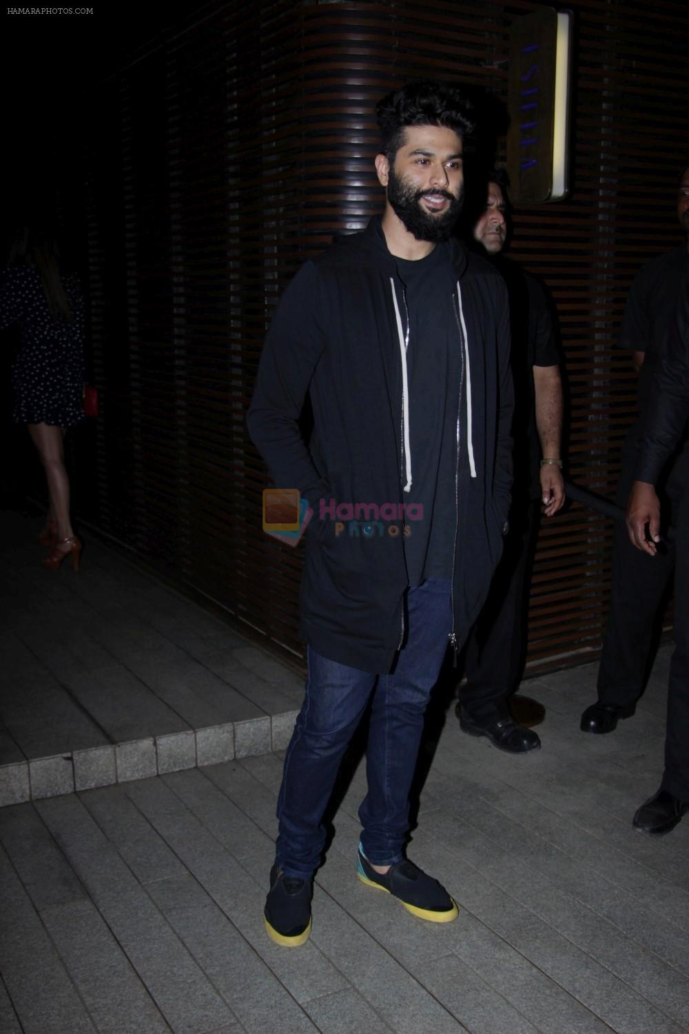 Kunal Rawal at the Success Party of Badrinath Ki Dulhania hosted by Varun on 16th March 2017