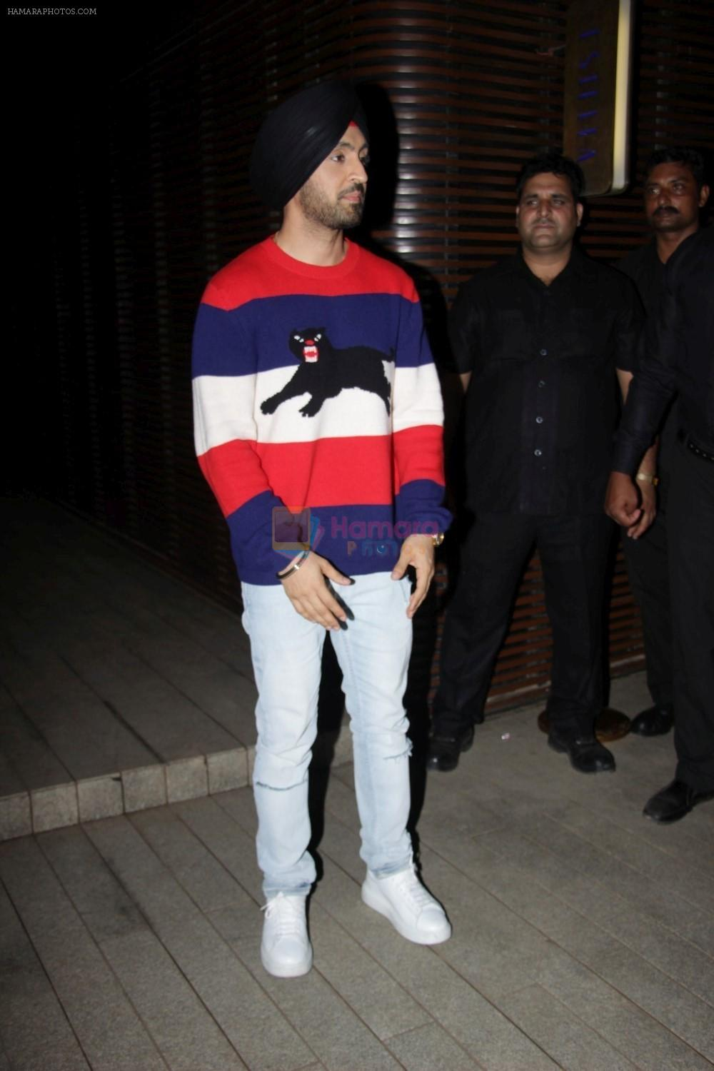 Diljit Dosanjh at the Success Party of Badrinath Ki Dulhania hosted by Varun on 16th March 2017