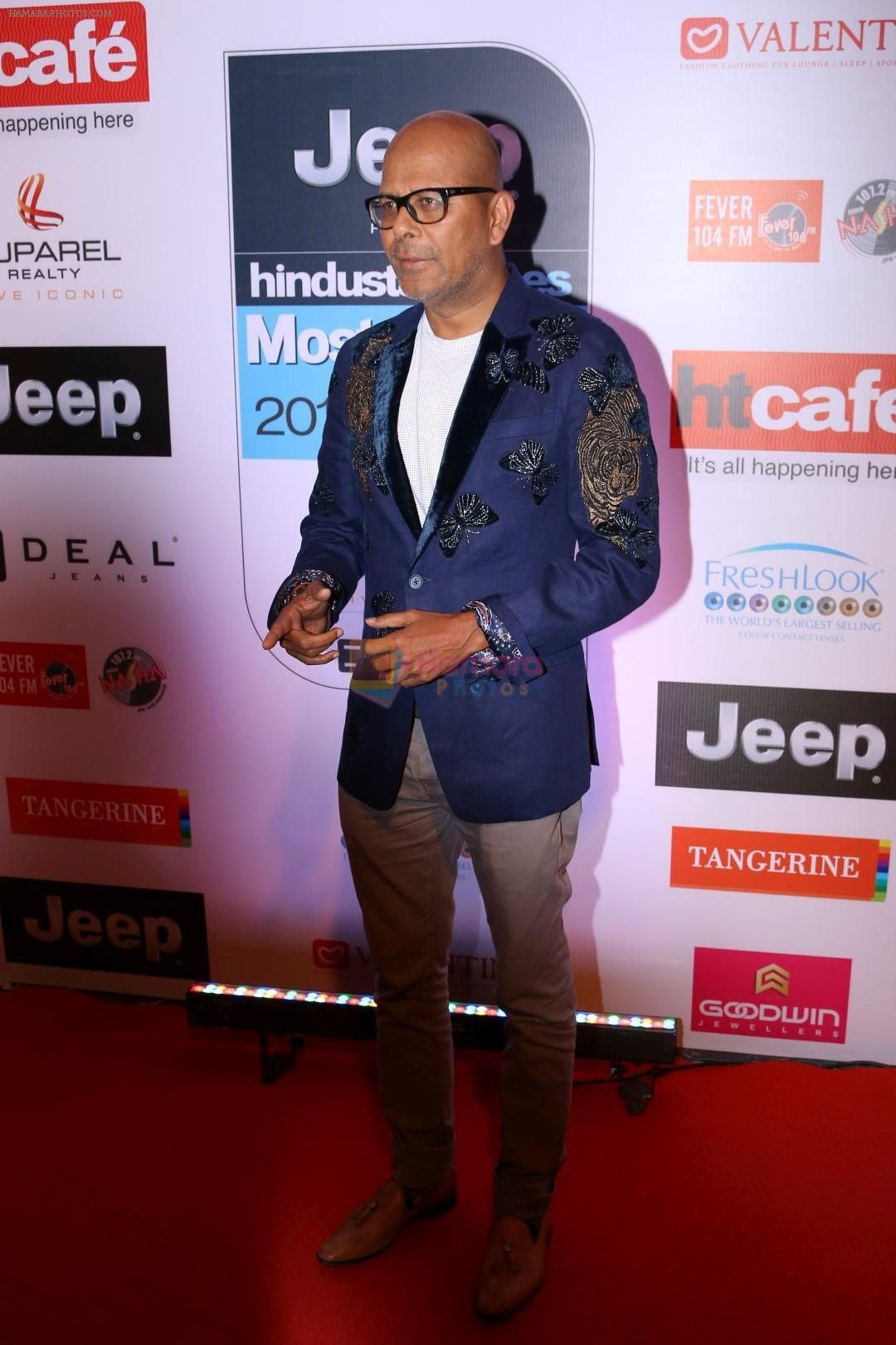 Narendra Kumar Ahmed at the Red Carpet Of Most Stylish Awards 2017 on 24th March 2017