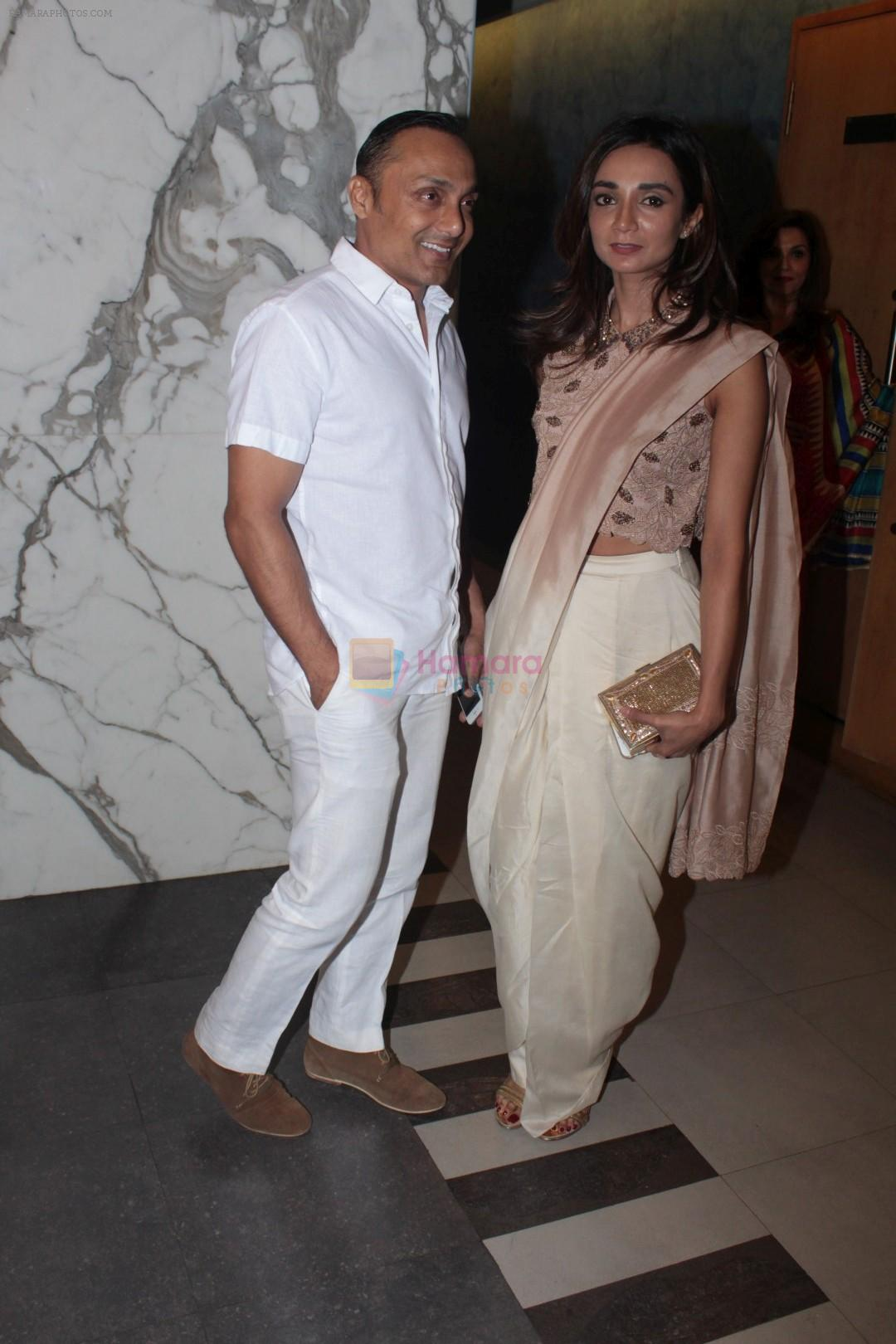 Rahul Bose, Ira Dubey at the Special Screening Of Film Sonata on 18th April 2017