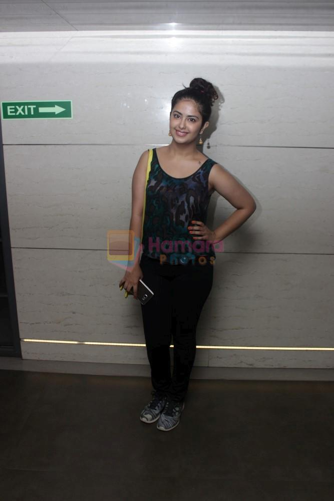 Avika Gor at the Special Screening Of Film Mantostaan on 20th April 2017