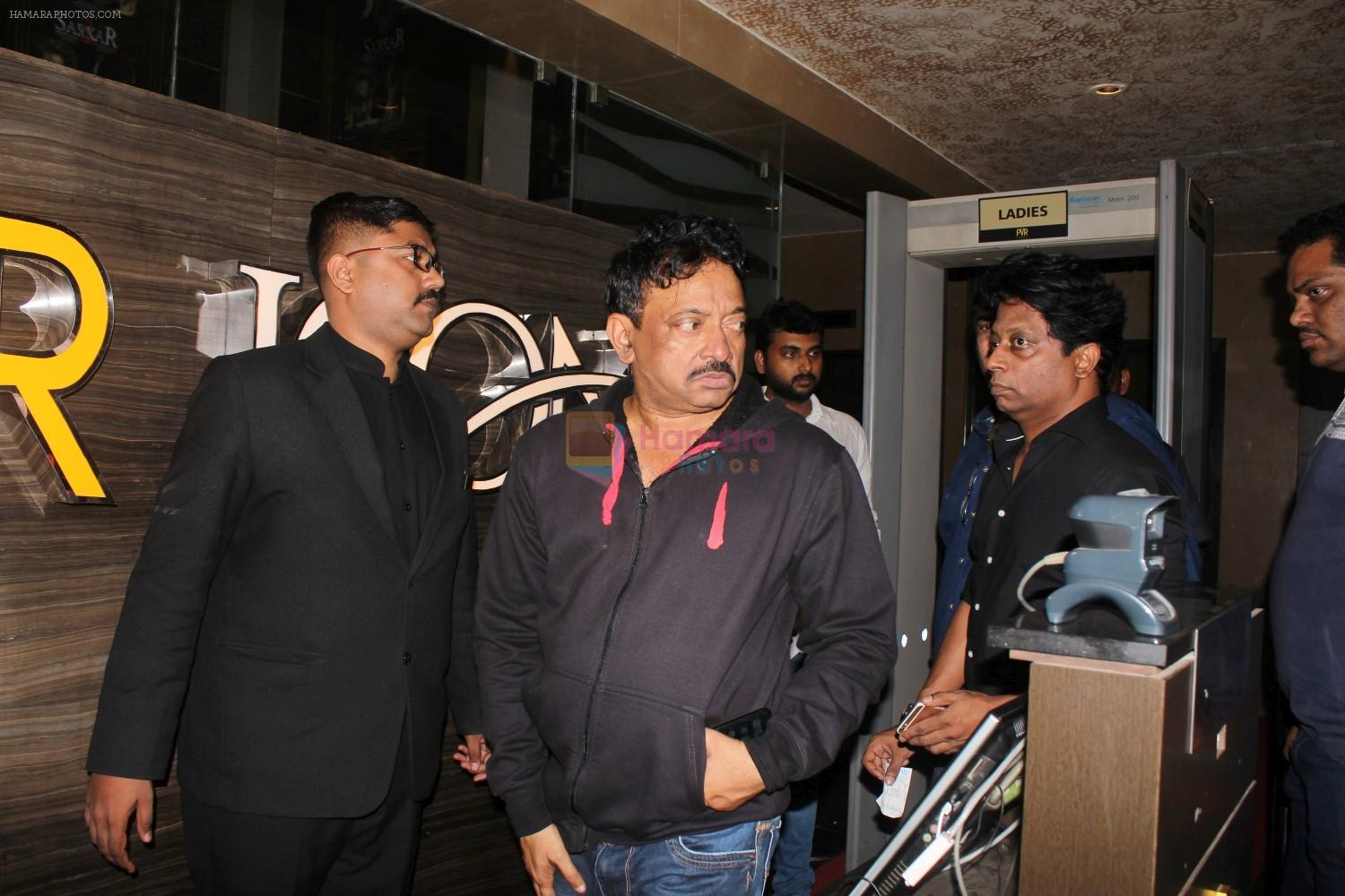 Ram Gopal Varma at the Special Screening Of Film Sarkar 3 on 12th May 2017