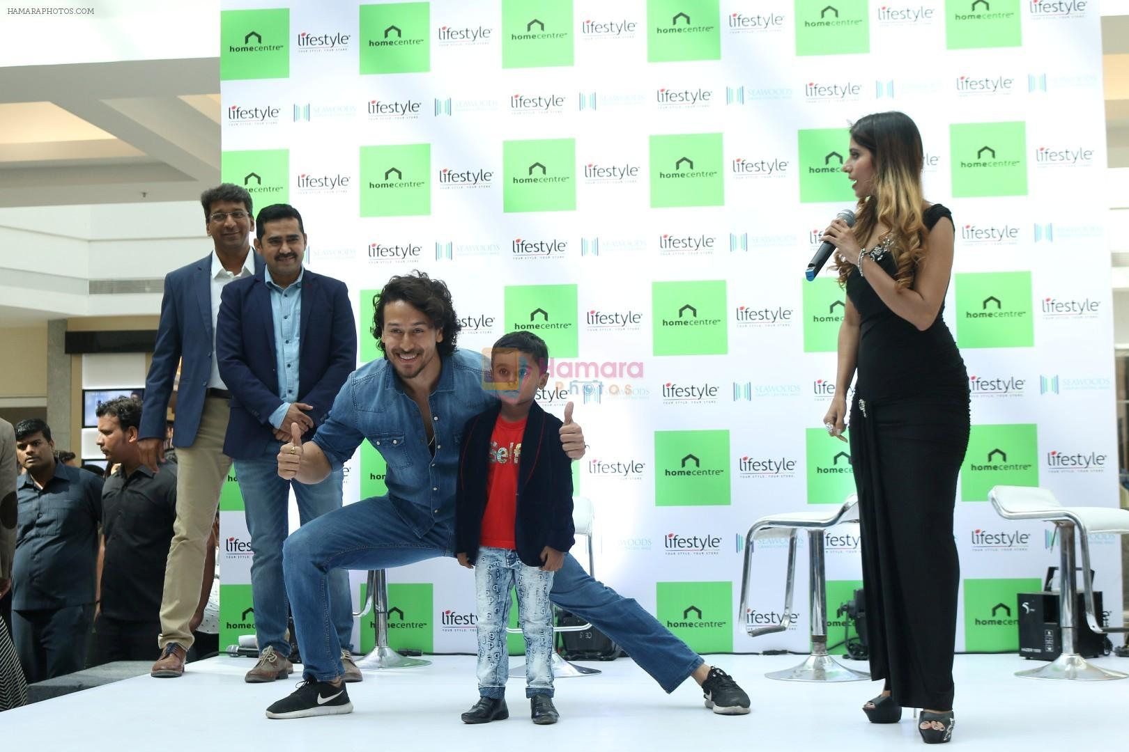 Tiger Shroff at the Launch Of Lifestyle New Store on 18th May 2017