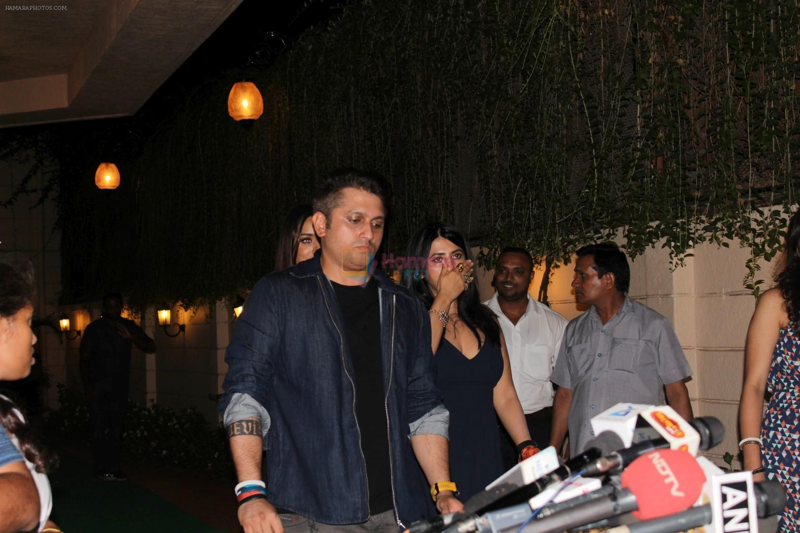 Mohit Suri at the Success Party Of Film Half Girlfriend on 27th May 2017