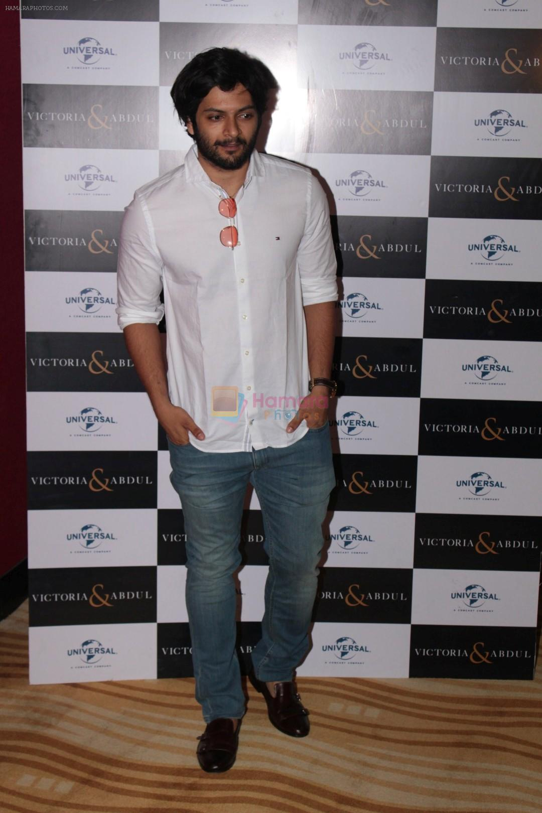 Ali Fazal at the Trailer Launch Of The Hollywood Film Victoria And Abdul on 30th May 2017
