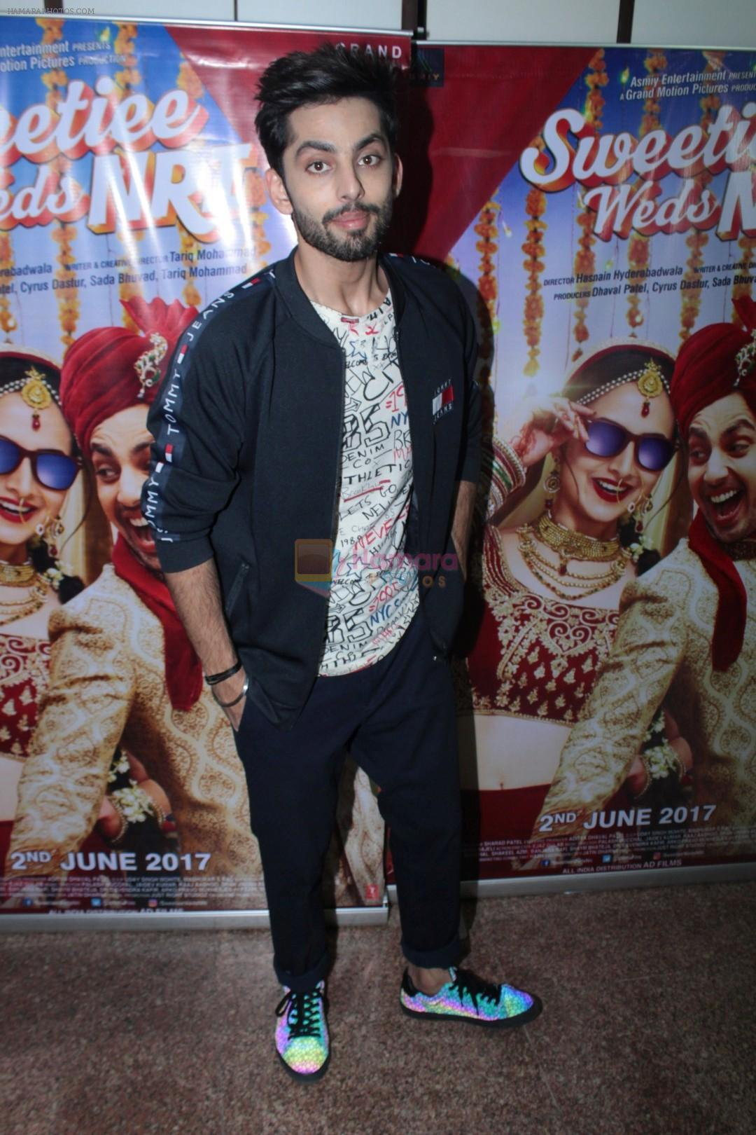 Himansh Kohli at the Promotional Interview for Film Sweetiee Weds NRI on Ist June 2017