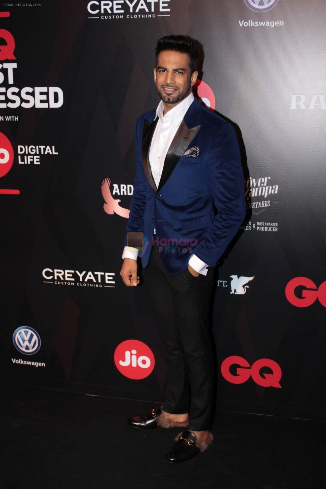 Upen Patel at Star Studded Red Carpet For GQ Best Dressed 2017 on 4th June 2017