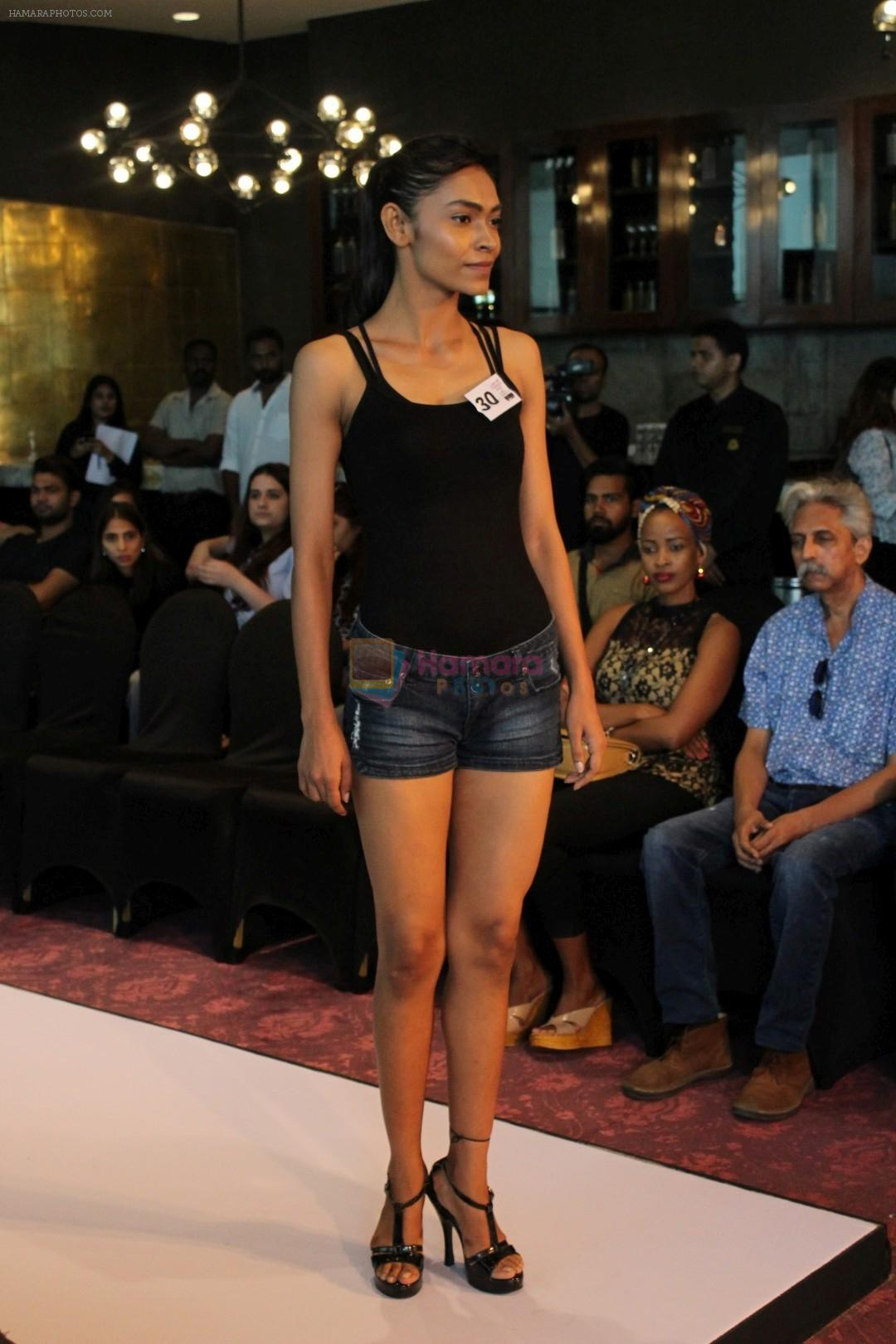 at LFW Model Auditions on 13th June 2017