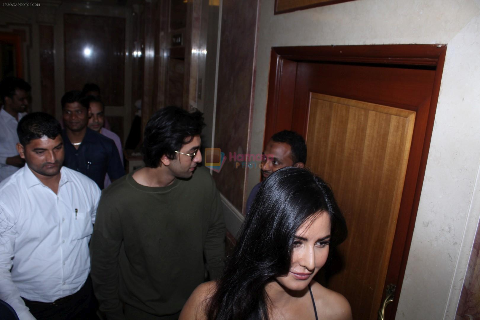 Ranbir Kapoor, Katrina Kaif Spotted Promoting Film Jagga Jasoos At Radio City on 13th June 2017