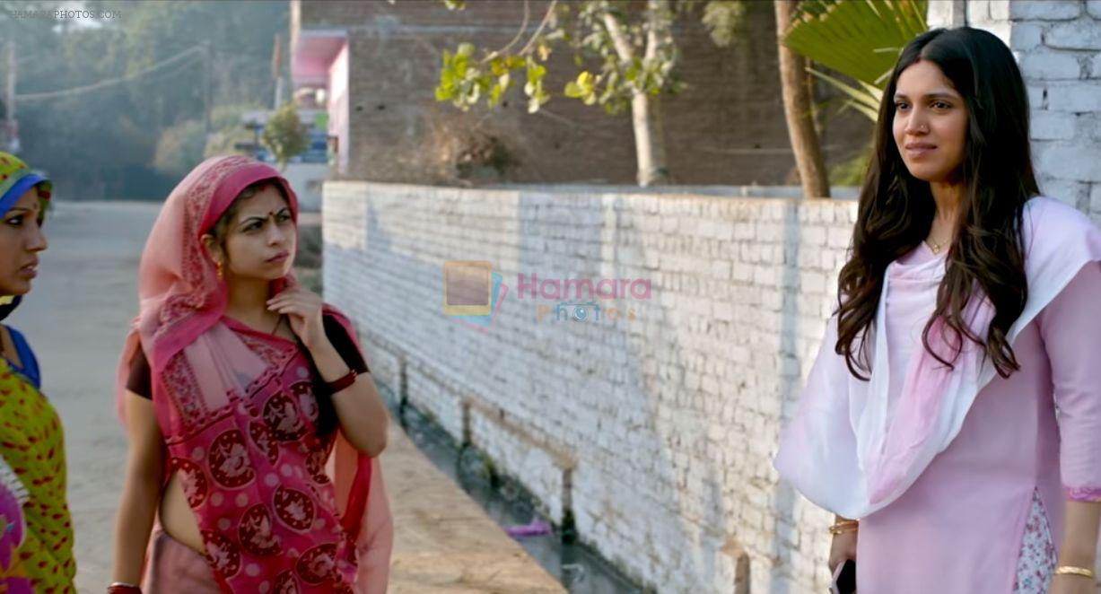 Bhumi Pednekar in Toilet Ek Prem Katha Movie Stills