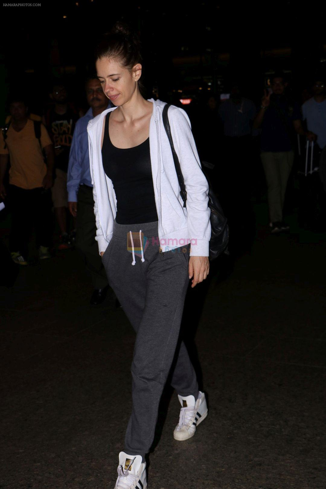 Kalki Koechlin at the airport on 15th June 2017