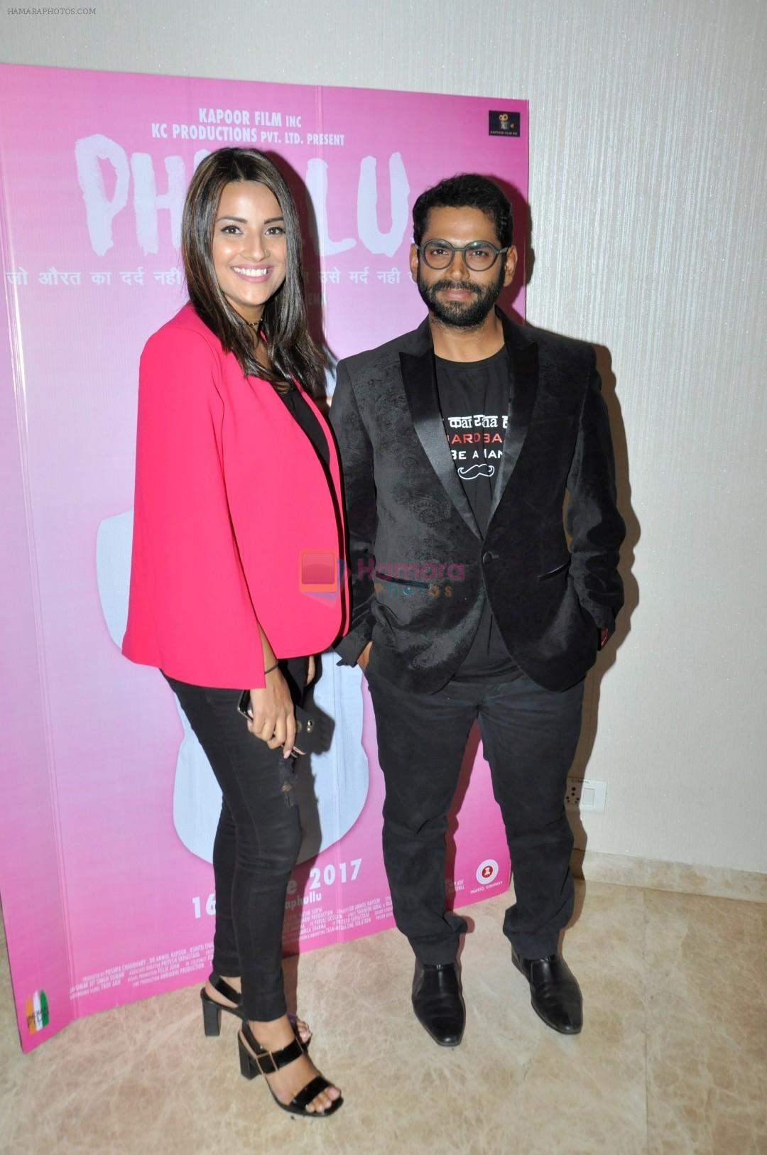 Jyotii Sethi and Sharib Hashmi at The Special Screening Of Phullu on 14th June 2017