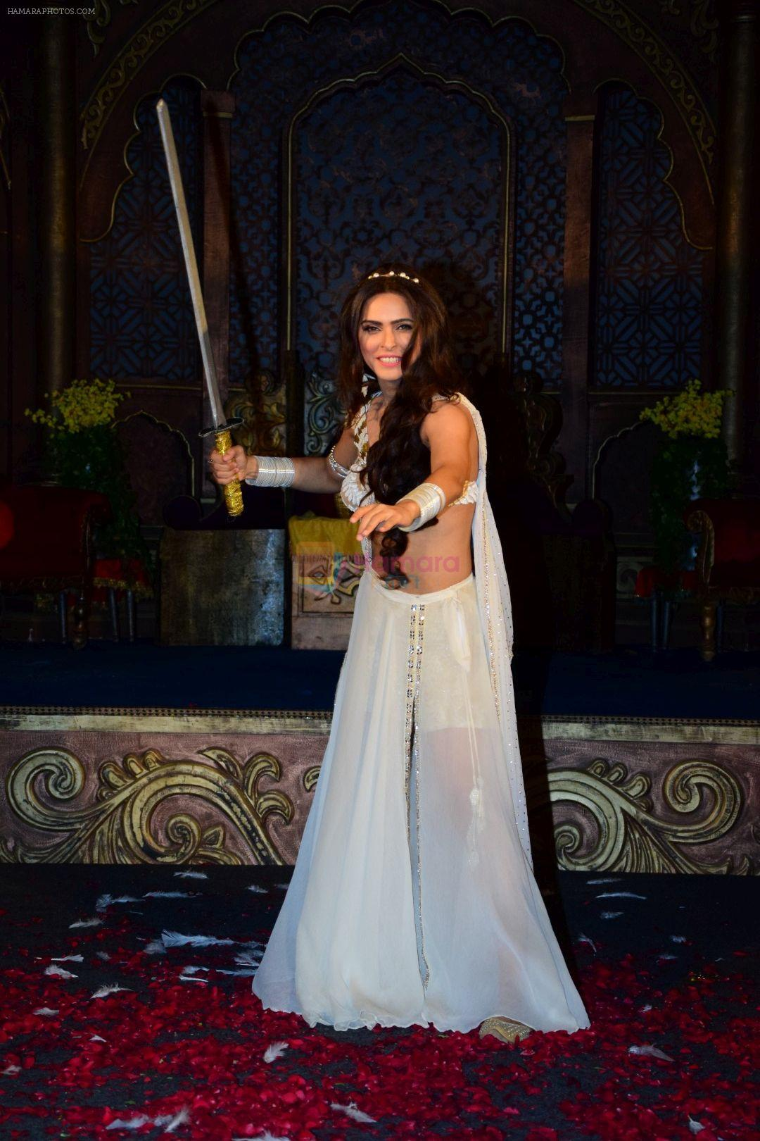 Madhurima Tuli during launch of serial Chandrakanta in Mumbai on June 14, 2017