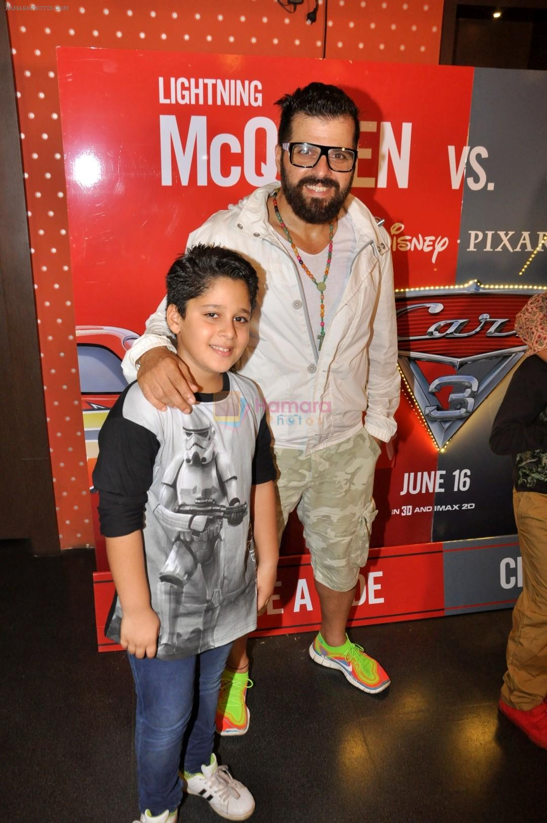 Bakhtiyaar Irani at the Special Screening of Animated film CARS 3 on 15th June 2017