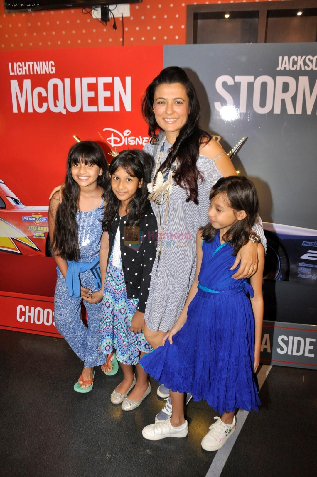 Mini Mathur at the Special Screening of Animated film CARS 3 on 15th June 2017