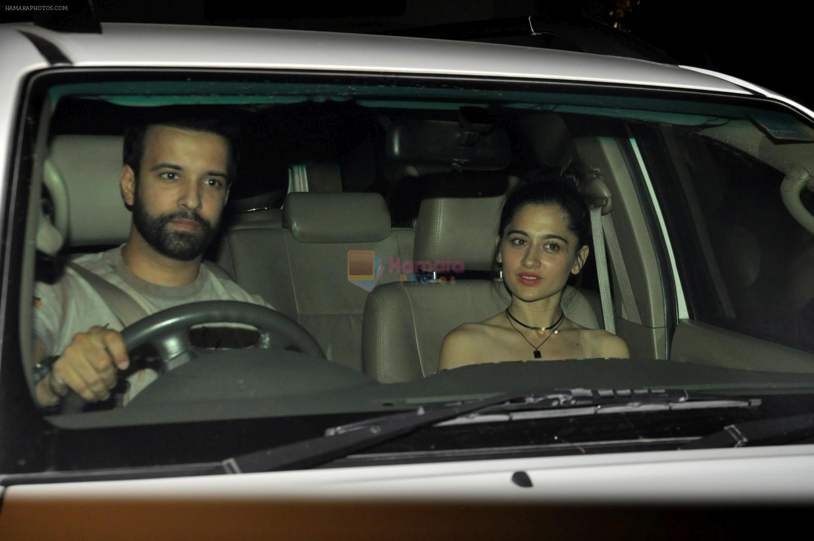 Aamir Ali, Sanjeeda Sheikh at The Special Screening Of Bank Chor Movie on 15th June 2017